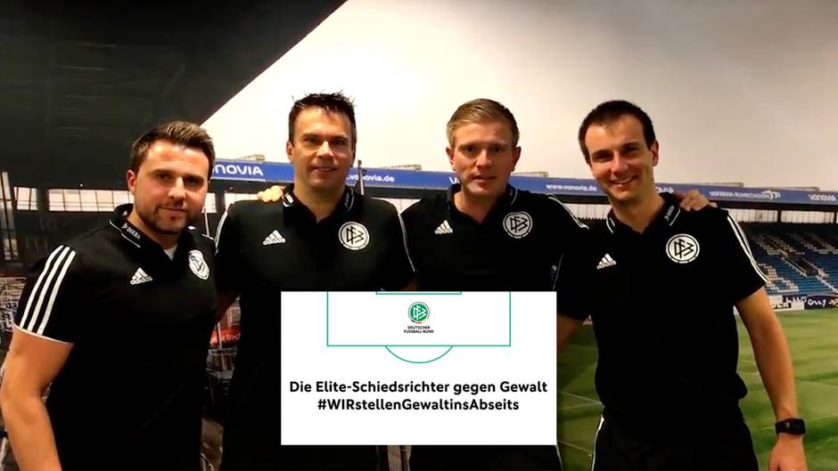 DFB action: After attacks: top referees strengthen their colleagues in amateur football