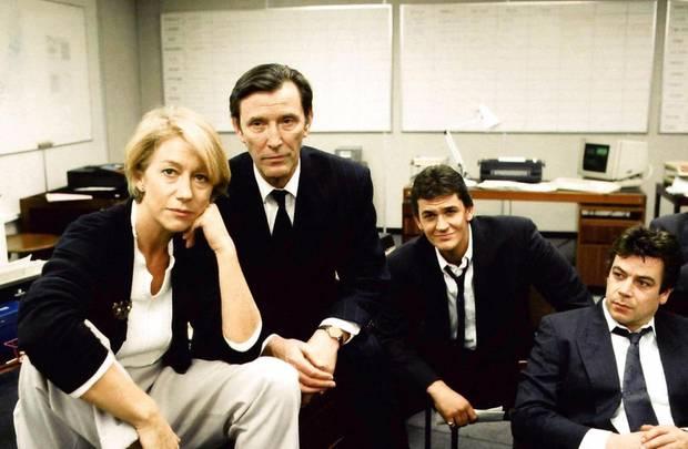 """Helen Mirren als DCI Jane Tennison in """"Prime Suspect"""" - und ihr Team."""