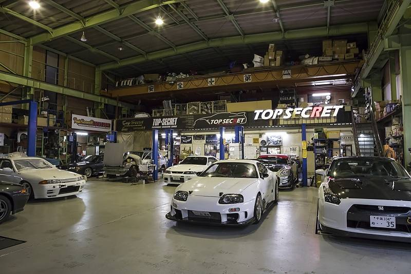 Tuningwerkstatt Top Secret Tokio