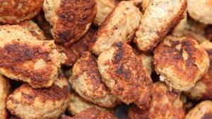 Listerien in Fleisch-Frikadellen