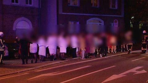 Hattingen: Feuerwehr-Einsatz im Swinger-Club in NRW – Elf Verletzte