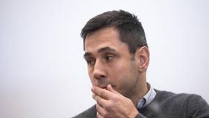 Felix Sturm beim Prozessauftakt vor dem Landgericht Köln