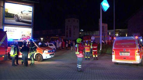Feuerwehreinsatz am Swingerclub in Hattingen