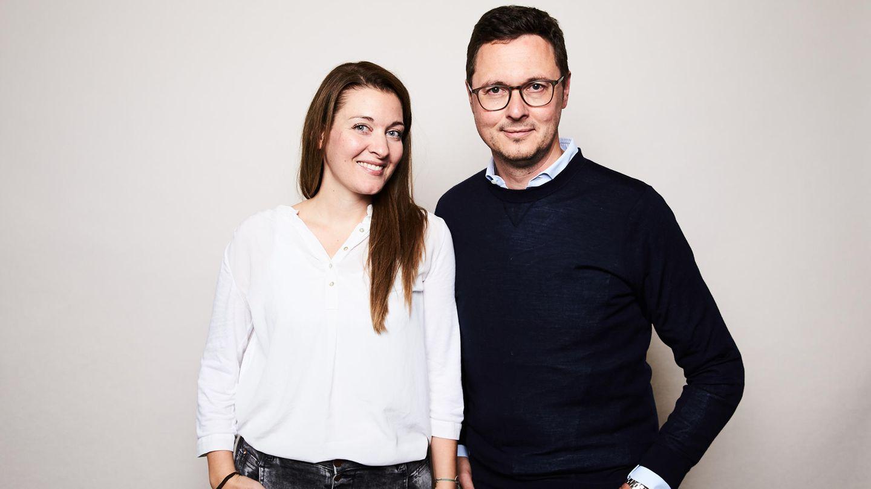 Chefredakteure Anna-Beeke Gretemeier und Florian Gless