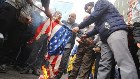 USA Protest Iran