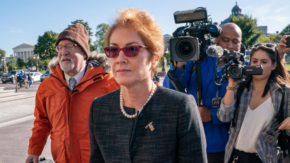 Mitte Oktober wurdeMarie Yovanovitch vor den Ausschuss geladen, um in Sachen Ukraine-Affäre auszusagen