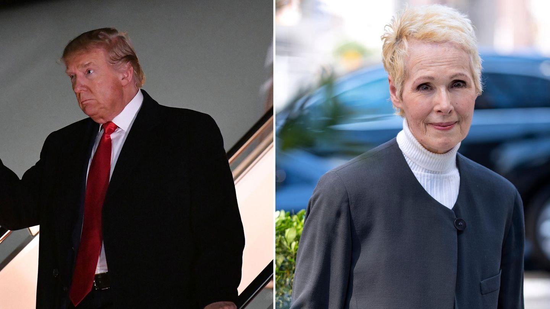 E. Jean Carroll bezichtigt US-Präsident Donald Trump der Vergewaltigung
