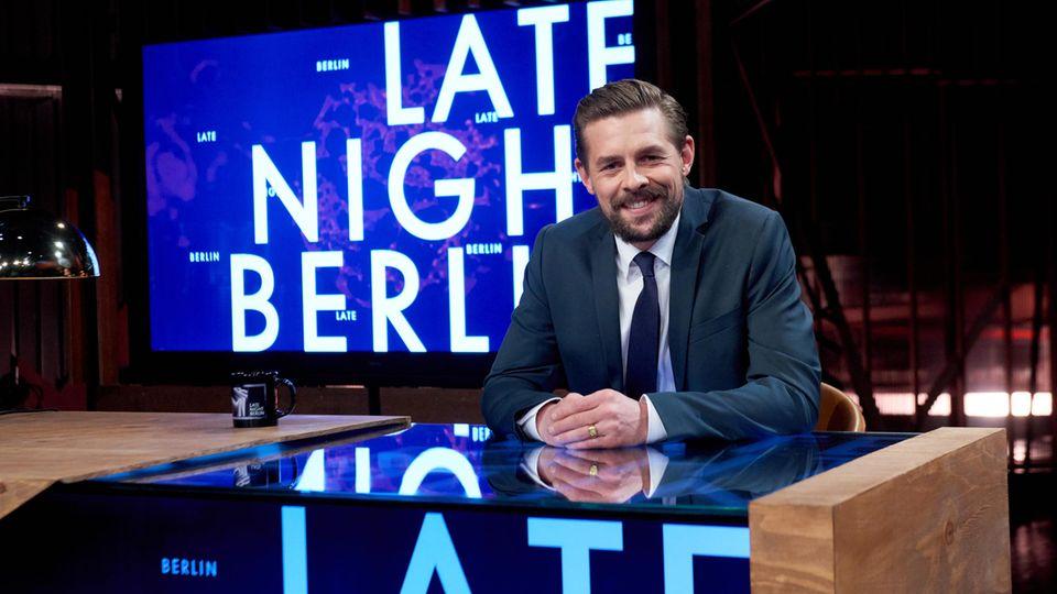 "Klaas Heufer-Umlauf moderiert ""Late Night Berlin"""