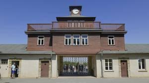 Eingang des KZ Buchenwald