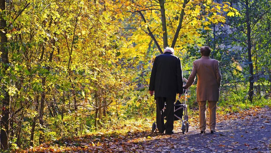 Lebenserwartungen in Deutschland
