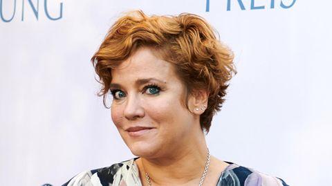 Die Schauspielerin Muriel Baumeister