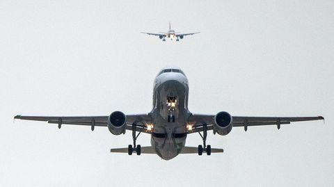 Zwei Jets im Landeanflug
