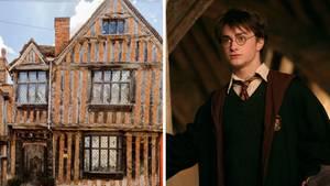Ein Zusammenschnitt aus Godric's Hollow und Harry Potter