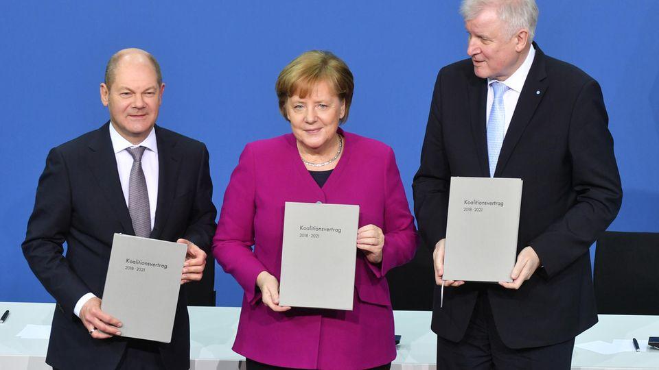 Zombie-Koalition: Merkel und die Untoten