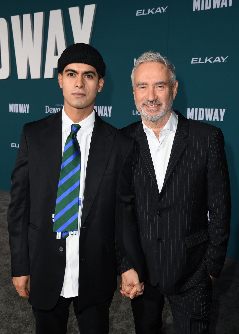 Roland Emmerich und sein Mann Omar