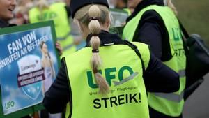 Ufo-Mitarbeiter wollen Lufthansa bestreiken