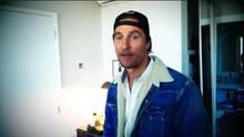 Matthew McConaughey hat sich sein erstes Instagram-Profil zugelegt