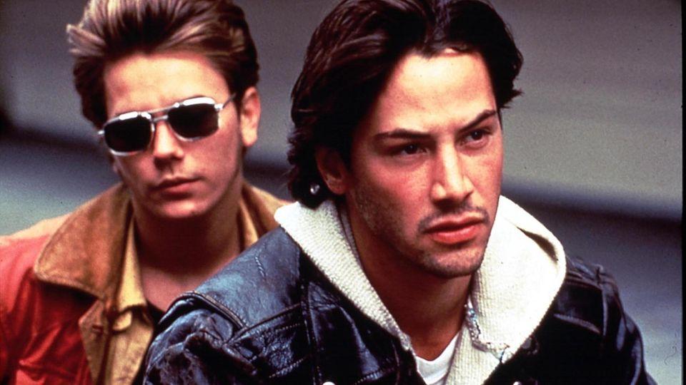 River Phoenix und Keanu Reeves