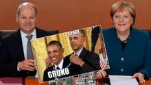 Die GroKo zieht Halbzeitbilanz und zeigt sich zufrieden mit ihren bisherigen politischen Ergebnissen