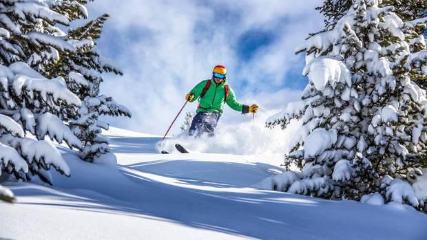 In Deutschland gibt es unzählige Skigebiete