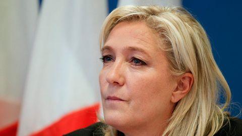 Parteichefin Marine Le Pen