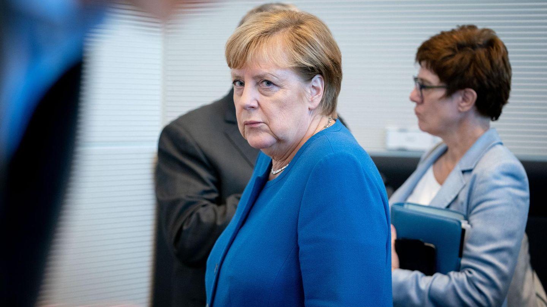 Kanzlerin Angela Merkel und CDU-Chefin Annegret Kramp-Karrenbauer