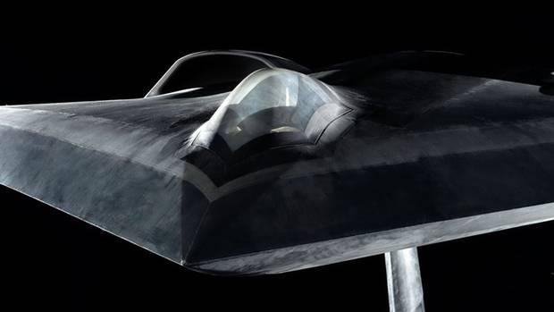 LOUT hat eine Kanzel, um Studien für einen Kampfjet durchzuführen.