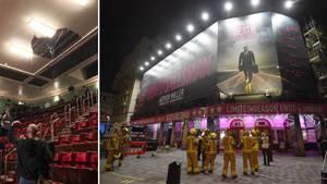 London: Decke von Piccadilly Theatre stürzt teilweise ein