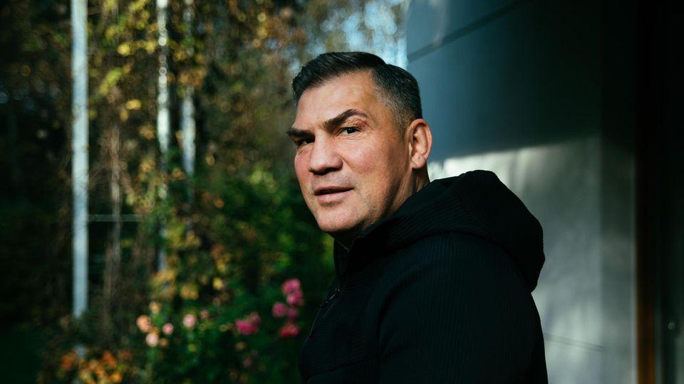 Michalczewski, 51, zu Hause in Danzig, wo er mit seiner dritten Frau und den zwei gemeinsamen Kindern lebt