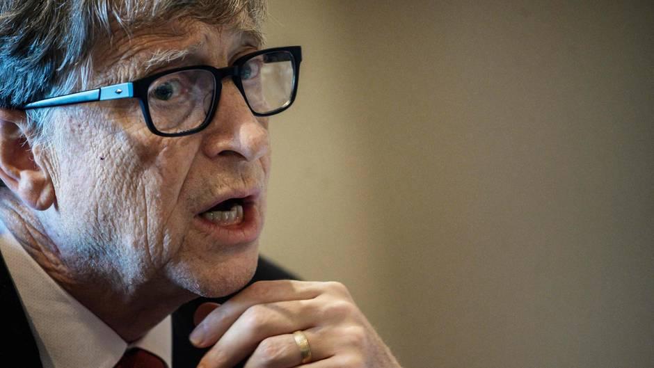 Microsoft-Gründer Bill Gates gibt sich nachdenklich