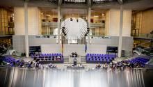 Die 124. Sitzung des Bundestages