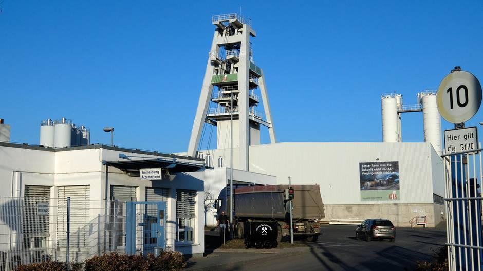 Teutschenthal - Explosion in Bergwerk