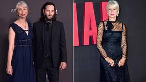 Keanu Reeves und seine Freundin Alexandra Grant