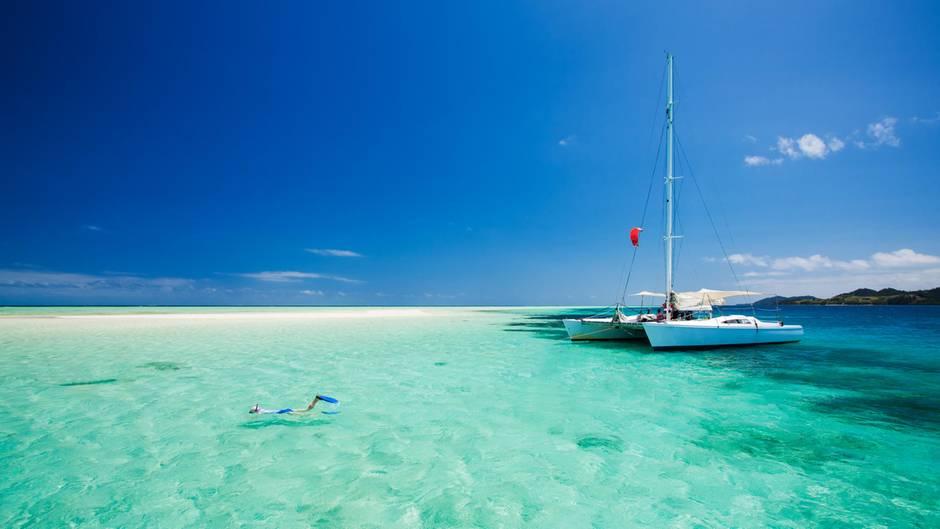 Traumziel Malediven: Jedes Jahr besuchen rund 1,3 Millionen Touristen das Inselreich