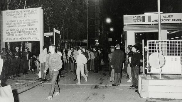 30 Jahre Mauerfall Checkpoint Charlie