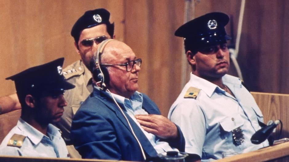 John Demjanjuk vor Gericht in Israel