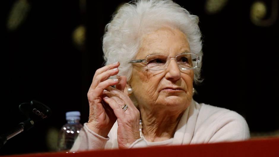 Liliana Segre überlebte den Horror des Holocaust in Auschwitz