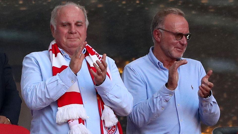 FC Bayern München Karl-Heinz Rummenigge - Uli Hoeneß