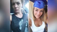 Ex-Drogennutzer vor und nach dem Entzug: Facebookseite macht Menschen Mut