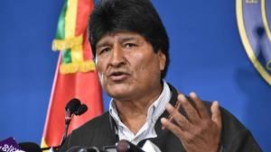 Präsident Evo Morales kündigt Neuwahlen in Bolivien an