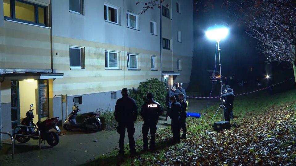 Polizeieinsatz in Hamburg