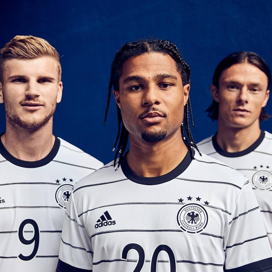 Neuer Dress präsentiert: In diesem Trikot will Deutschland Europameister werden
