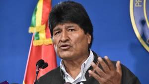 Evo Morales ist als Präsident Boliviens zurückgetreten