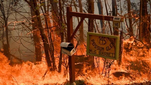 Zahlreiche Menschen haben durch das Feuer in Australien ihre Häuser und ihren Besitz verloren