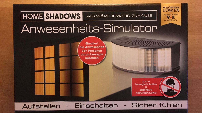 Schattensimulator Einbruchspräventionssystem
