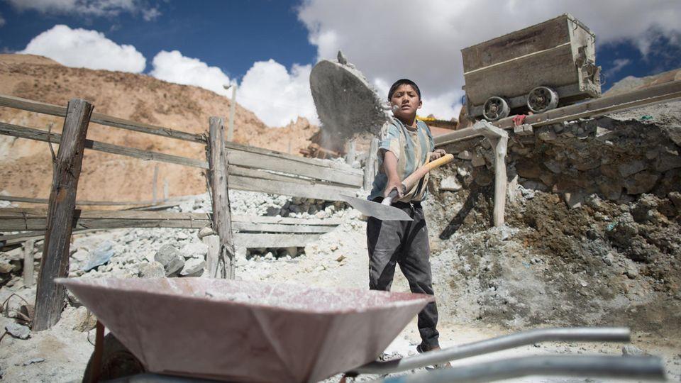 Kinderarbeiter Jorge, 12