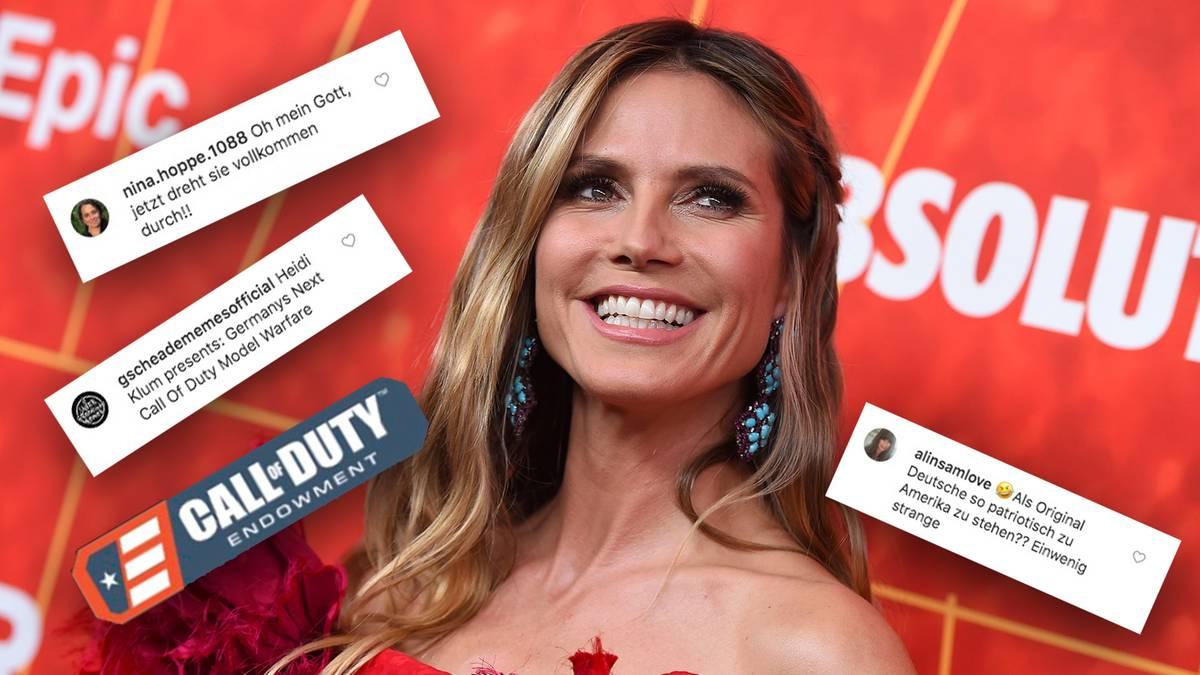 "Spott auf Twitter: Heidi Klum biedert sich bei Veteranen an – ""Jetzt dreht sie völlig durch!"""
