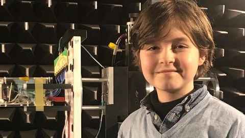Der neunjährige Laurent aus Amsterdam steht kurz vor der Bachelor-Prüfung an der TU Eindhoven