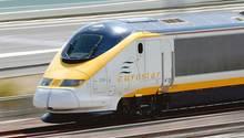 Verbindet London und Paris in gut zwei Stunden: der Eurostar