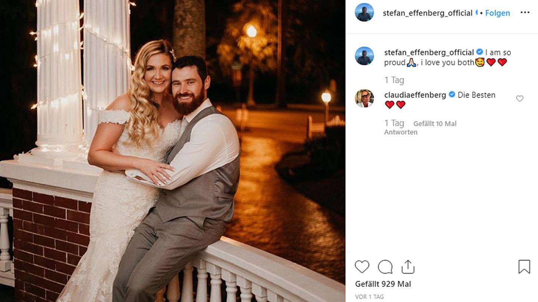 Tochter von Stefan Effenberg hat geheiratet